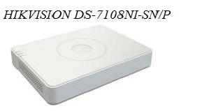 Tinklinės vaizdo įrašymo sistemų kainos | Tinklinis vaizdo įrašymo įrenginys Hikvision DS-7108NI-SN/P | Skaitmeninių sprendimų grupė, MB | +37062775772 | info@ssgrupe.lt | Mindaugo g. 42, LT03210 Vilnius