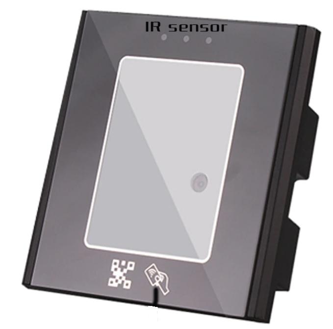 Qr kodo skaitytuvas praėjimo kontrolės sistemai