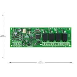 PGM4 4 išėjimų išplėtimo modulis